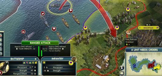 Civilization V: Релиз первого крупного патча