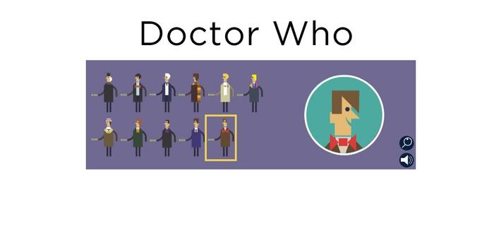 Мини игра Doctor Who от Google