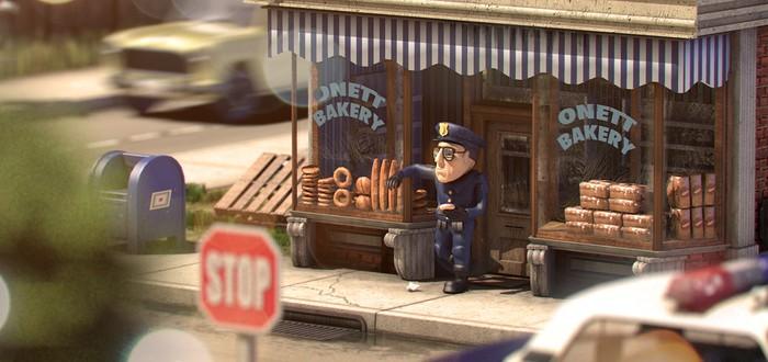 Город из Earthbound в 3D