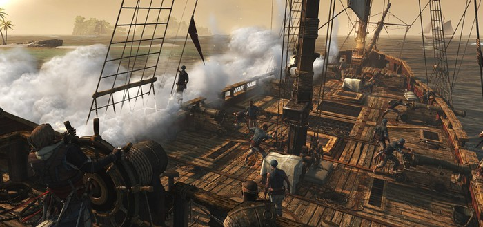 PhysX для Assassin's Creed 4