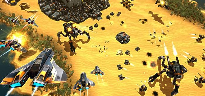 Анонс новой sci-fi RTS Etherium – первый трейлер