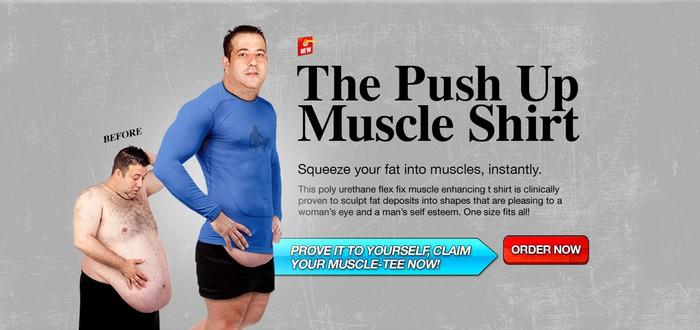 Майка-накачайка – превратите свой жир в шесть кубиков за минуту