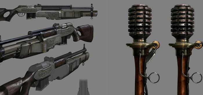 Оружие The Order: 1886 создается художниками-бутафорами