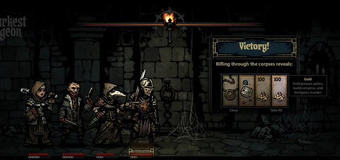 Roguelike RPG Darkest Dungeon собрал необходимую сумму на Kickstarter