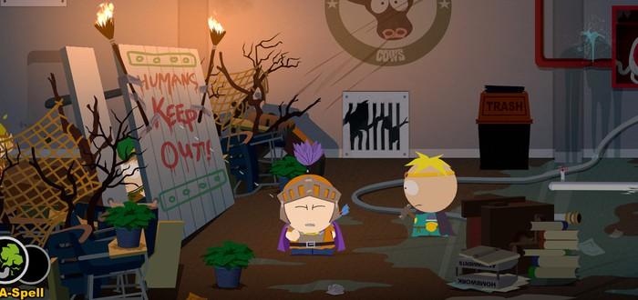 13 минут геймплея South Park: The Stick of Truth