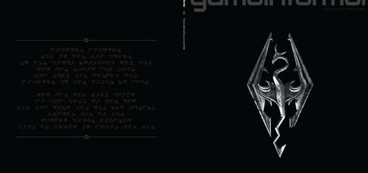Обложка The Elder Scrolls V: Skyrim декодирована