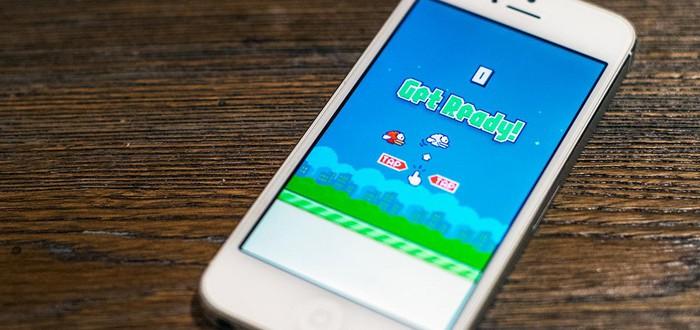 Клоны Flappy Bird появляются в App Store каждые 24 минуты
