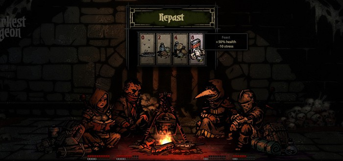 Darkest Dungeon: демонстрация битвы