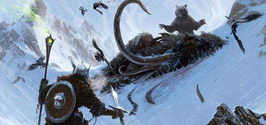 Видео: создание концепта The Elder Scrolls V: Skyrim