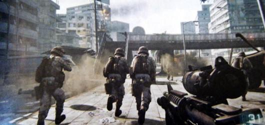 Первые скриншоты Battlefield 3