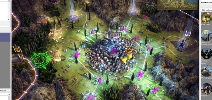Редактор Age of Wonders 3 для собственных кампаний и кастомных героев