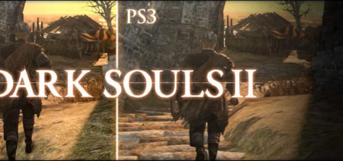 Dark Souls 2: Сравнение графики