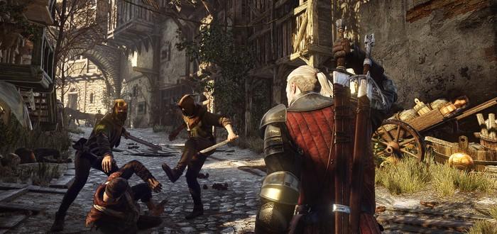 Фото и видео-отчет с GDC 2014 по Witcher 3
