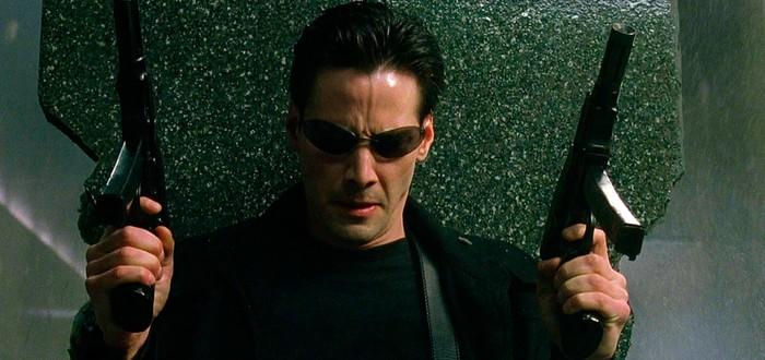 За кадром: Матрица – сцена с перестрелкой в лобби
