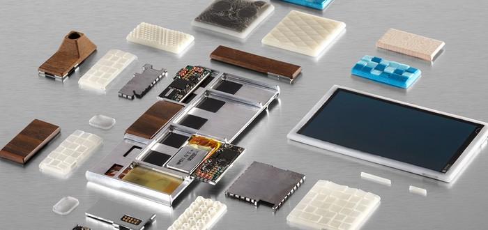 Фотографии первого прототипа модульного смартфона Google