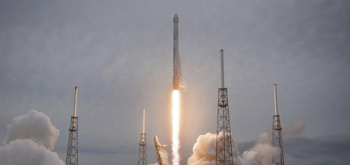 Частная ракета Falcon 9 успешно вышла в космос