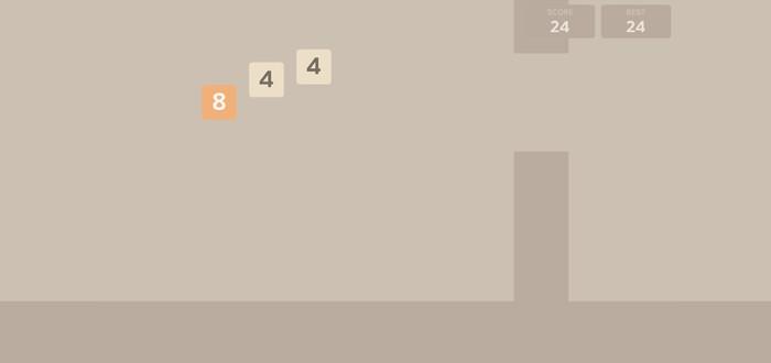 Flappy Bird + 2048 = Flappy48
