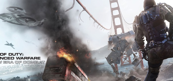Call of Duty: Advanced Warfare на обложке GameInformer