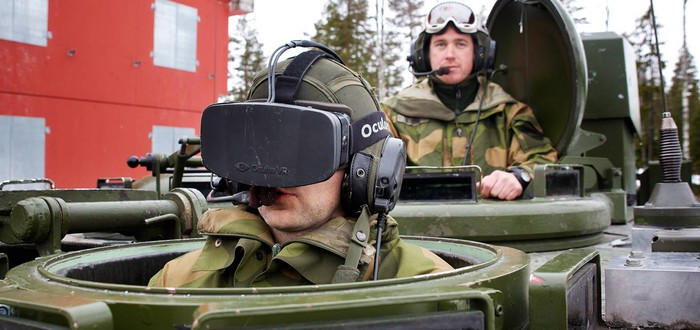 Oculus Rift позволяет Норвежским солдатам смотреть сквозь технику