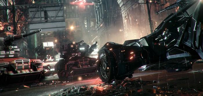 Впечатления от вождения Бэтмобиля в Batman: Arkham Knight