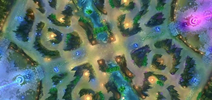 Обновление Summoner's Rift для League of Legends