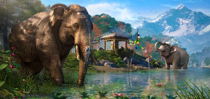Ubisoft приятно удивлена реакцией геймеров на слонов Far Cry 4