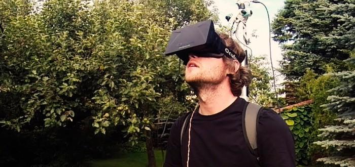 Вид от третьего лица в реальности при помощи Oculus Rift