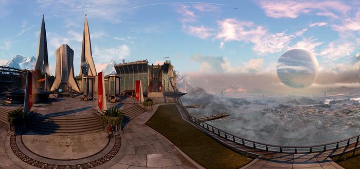 Панорамы Destiny представляют новые локации