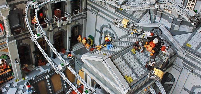 LEGO-диорама BioShock Infinite