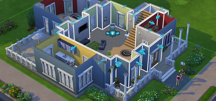 20 минут геймплея Sims 4