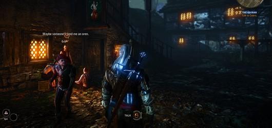 Геймплейные скрины Witcher 2