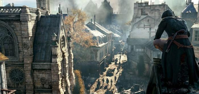 8 минут геймплея Assassin's Creed Unity с Comic-Con 2014