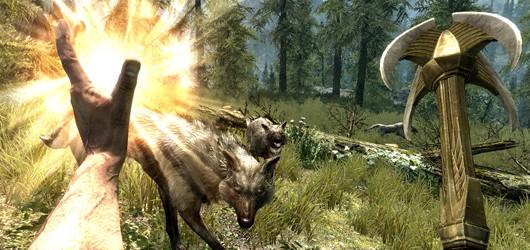 Взаимодействие с миром The Elder Scrolls V: Skyrim