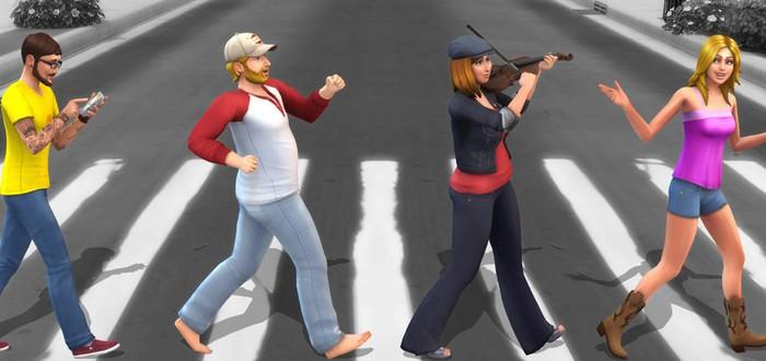 В Sims 4 будет много эмоций