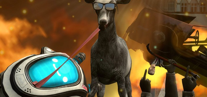 Продажи Goat Simulator составили почти миллион
