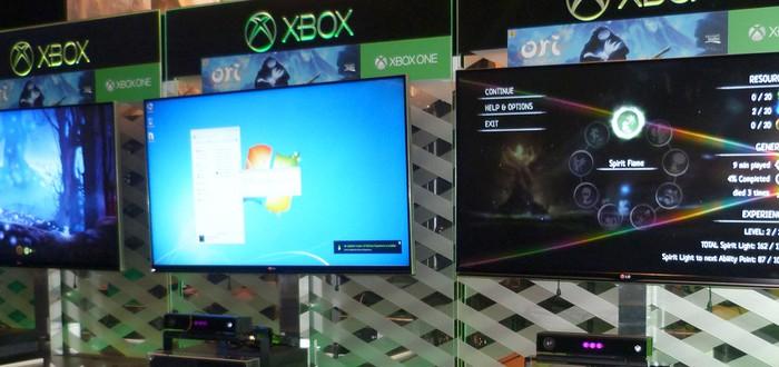 Microsoft снова поймали на использовании PC вместо Xbox One
