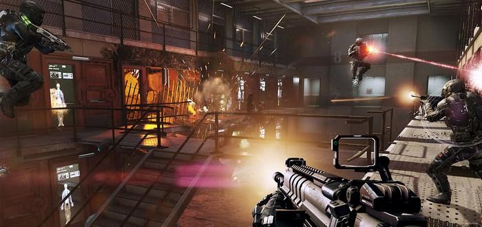 Экзоскелеты не обязательны в мультиплеере CoD: Advanced Warfare