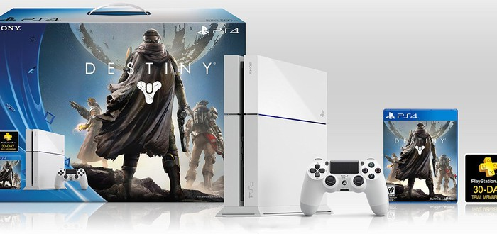 Распаковка белой PS4