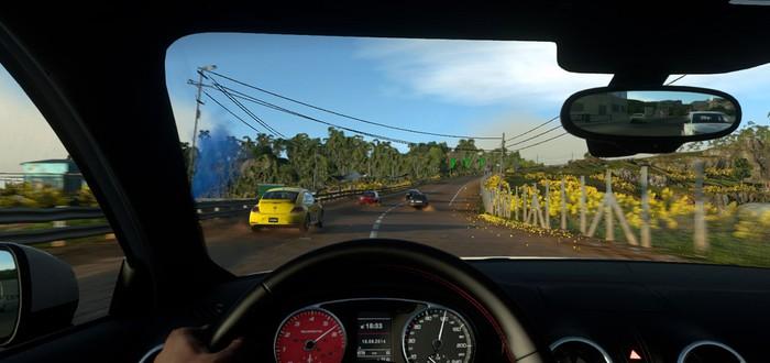 Скриншоты и видео из беты Driveclub