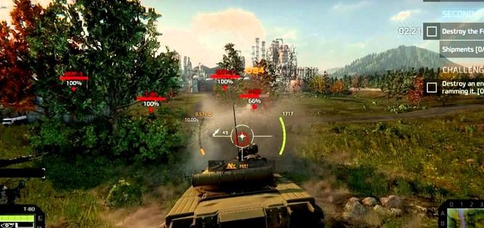 20 минут геймплея Armored Warfare