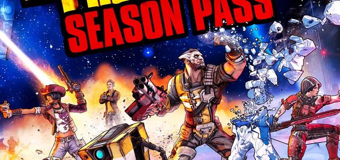 Сезонный пропуск Borderlands: The Pre-Sequel включает четыре пака