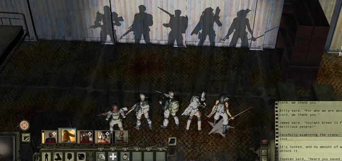 Трейлер боевой системы Wasteland 2