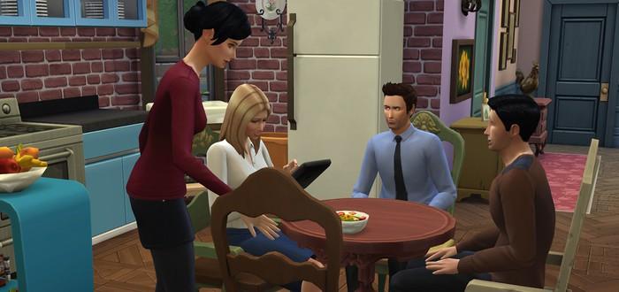 "Квартиры ""Друзей"" в Sims 4"