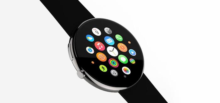 Как могли бы выглядеть круглые часы Apple