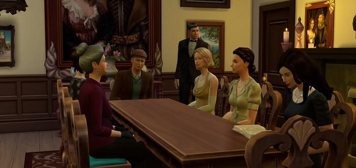 Аббатство Даунтон в The Sims 4