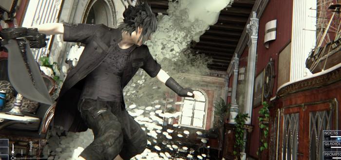 Геймплейное видео Final Fantasy XV на TGS 2014