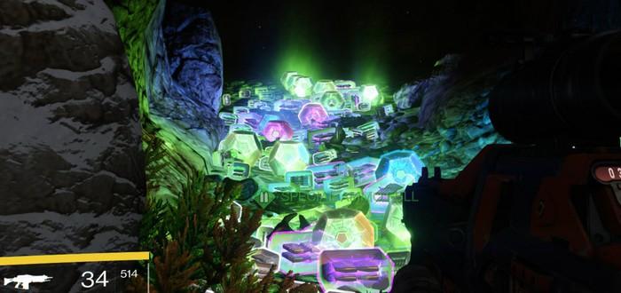 В Destiny найдена идеальная пещера для фарминга