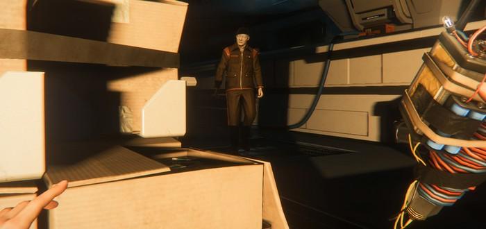 5 минут геймплея Alien: Isolation