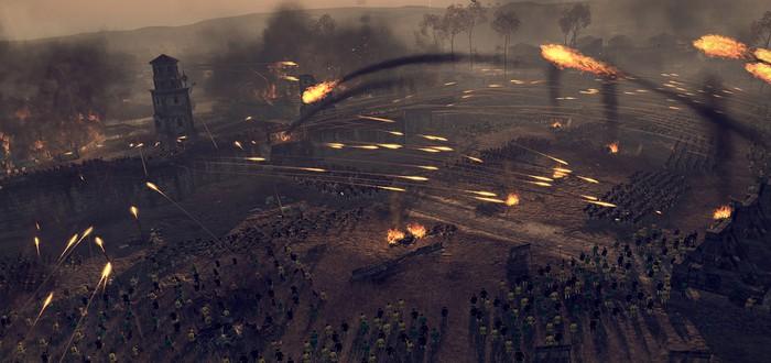 Первые скриншоты Total War: Attila, релиз в Феврале 2015