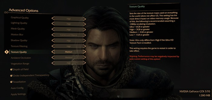 Что же означают 6 гигабайт видеопамяти для Middle-earth: Shadow of Mordor
